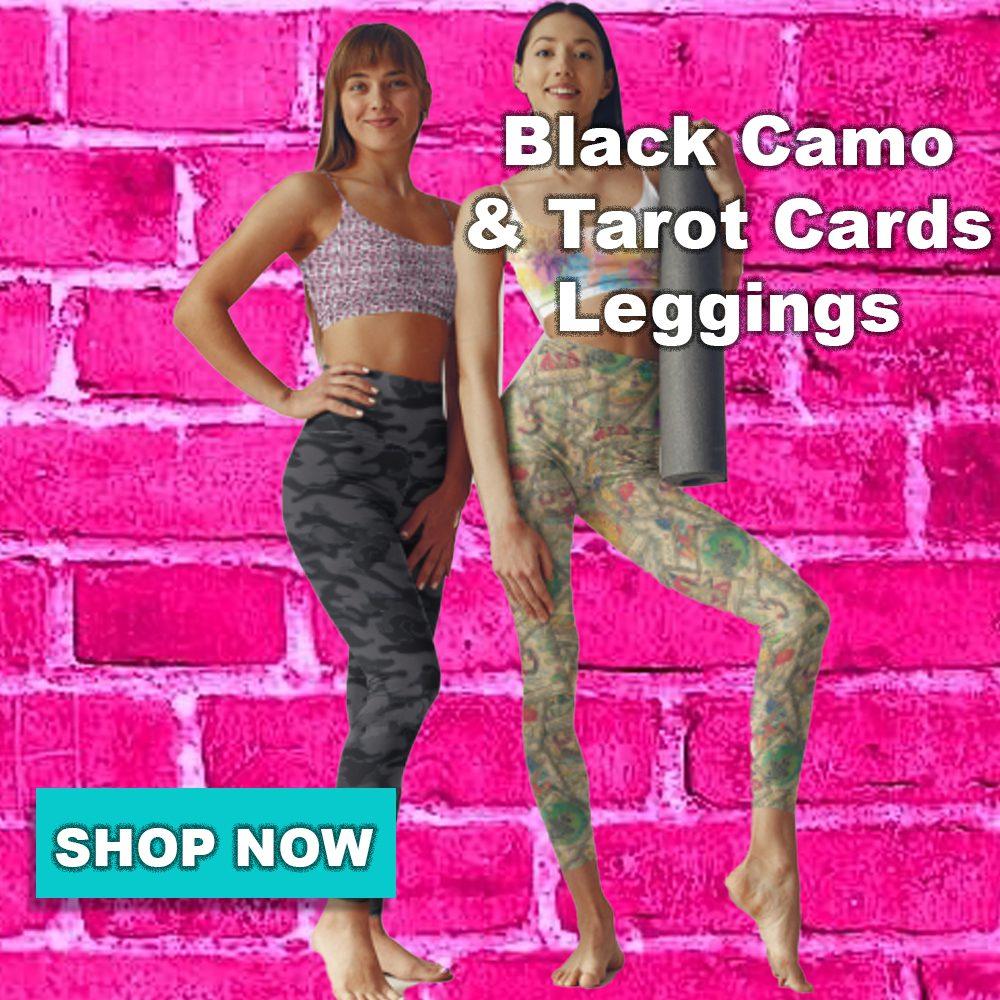 gearbaron dark camouflage leggings
