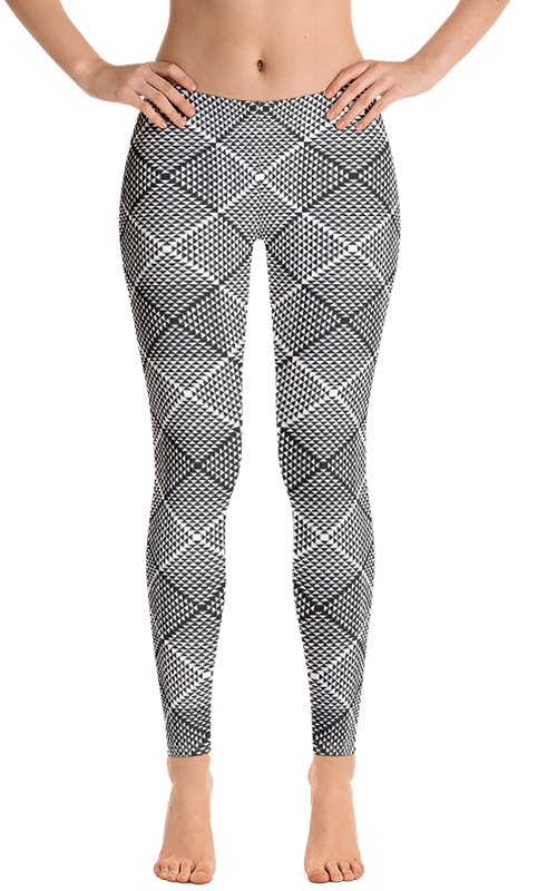 optical illusions leggings gearbaron athleisure activewear sports gear women's bottoms yoga pants handmade gym and fitness apparel