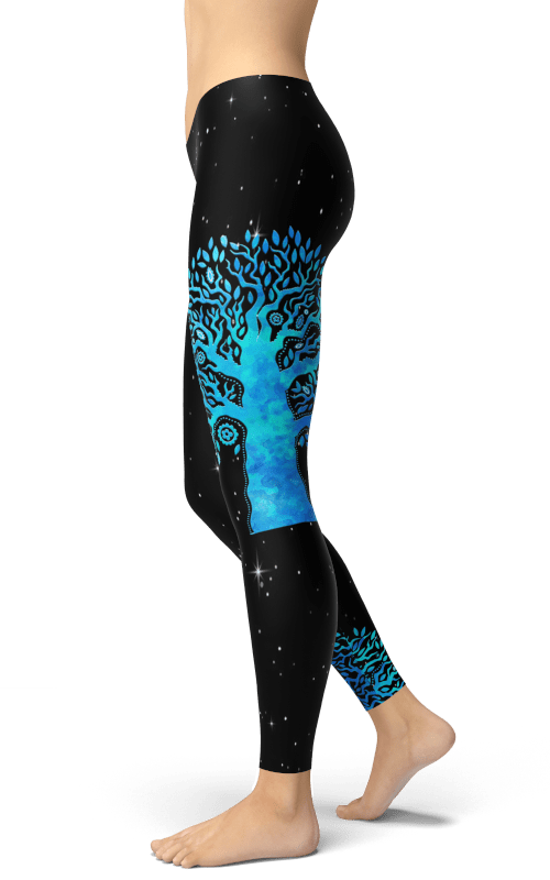 tree of life leggings gym and fitness wear sports clothing