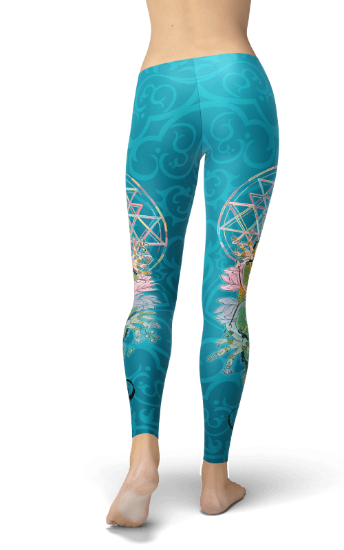 factory price baby 2019 real Sacred Indian Goddess Leggings
