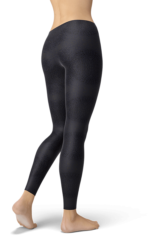gearbaron sparkling purple mini leopard leggings activewear yoga pants for women gym tights fitness wear clothing