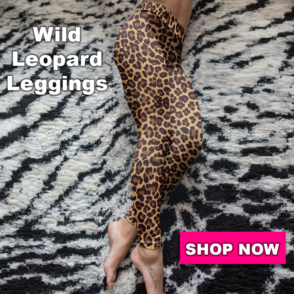 gearbaron wild leopard leggings
